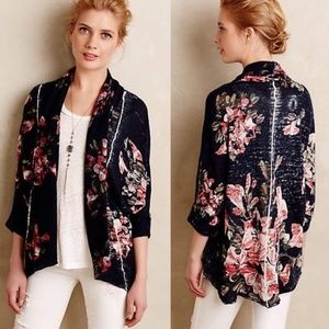 Knitted & Knotted Blooming Cardigan Sweater S